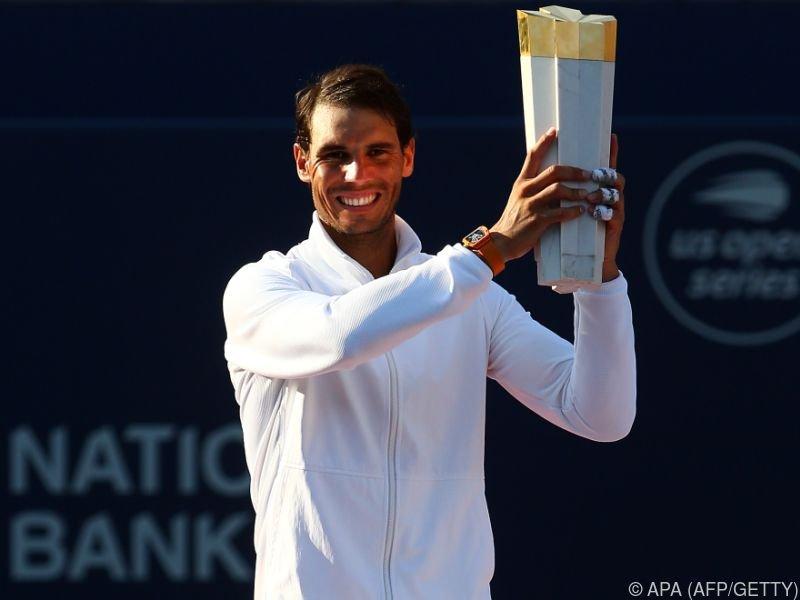 Nadal knackte als vierter Spieler die 80-Titel-Marke