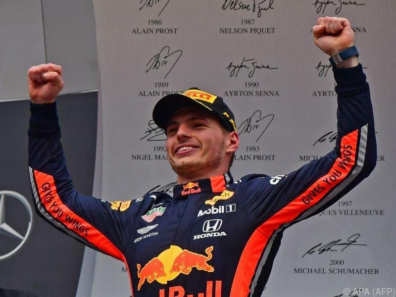 Für den Niederländer war es sein achter GP-Sieg
