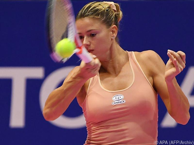 Giorgi bekommt es am Sonntag mit Alexandrowa zu tun