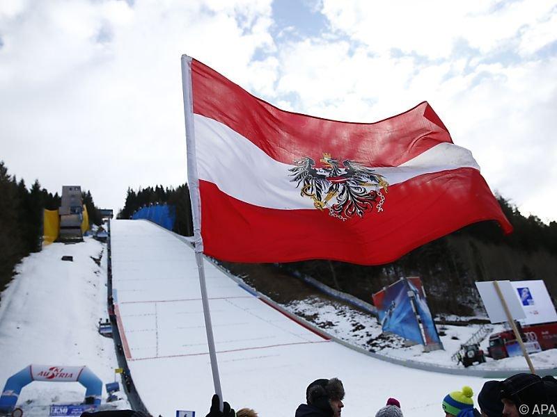 Der Skiflug-Weltcup gastiert am Kulm in Bad Mitterndorf