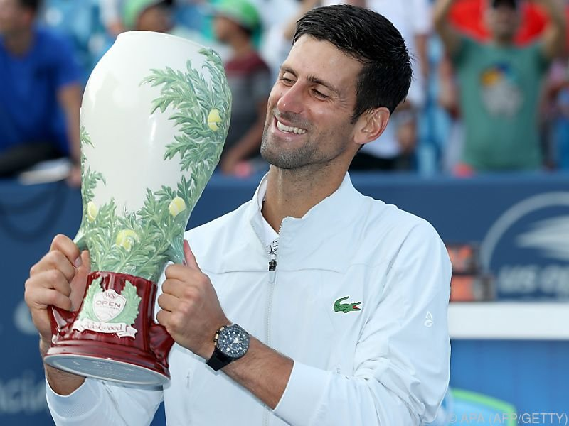 """Djokovic gelang das """"Golden Masters"""""""