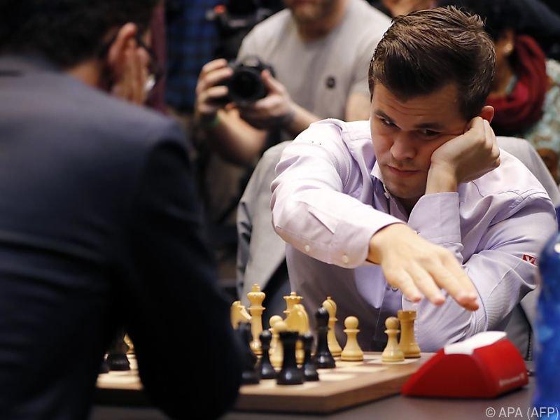 Carlsen doch nicht zu bezwingen