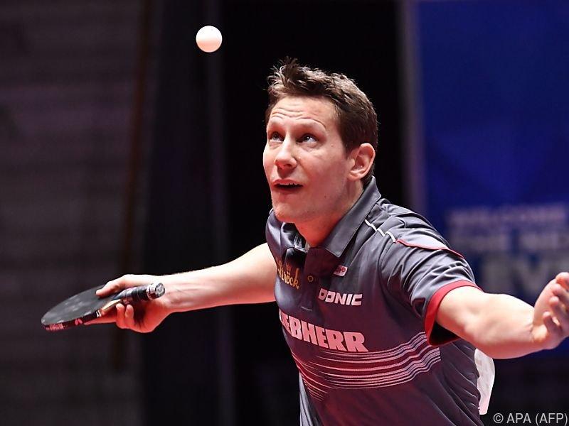 Robert Gardos ist aktuell Österreichs Nummer 2