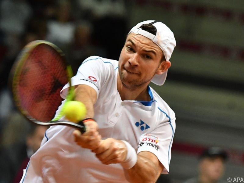 Davis-Cup-Spieler hatte in knapper Partie das Nachsehen