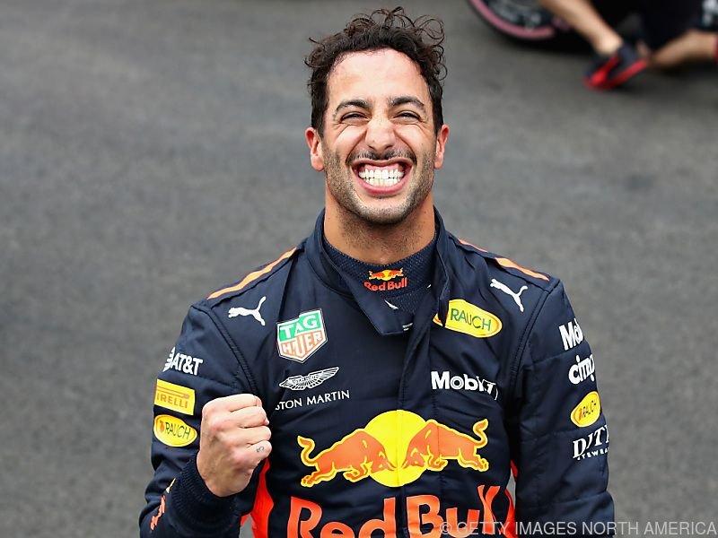 Ricciardo ist die Erleichterung ins Gesicht geschrieben