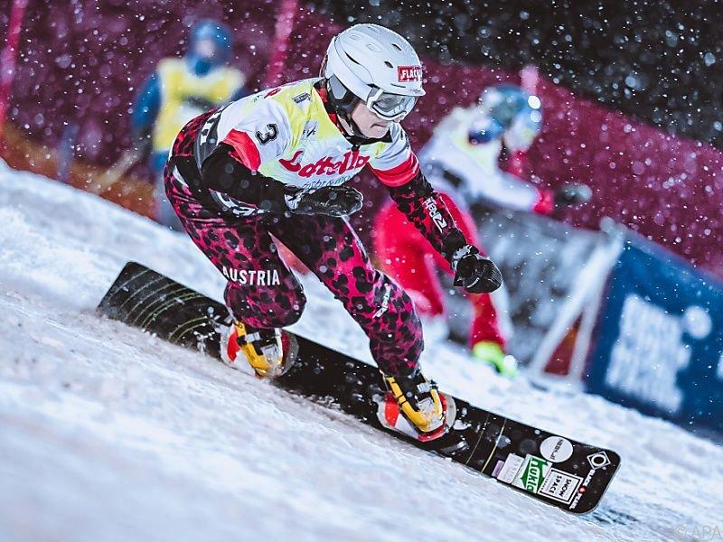 Claudia Riegler gewann den Parallel-Slalom in Bad Gastein