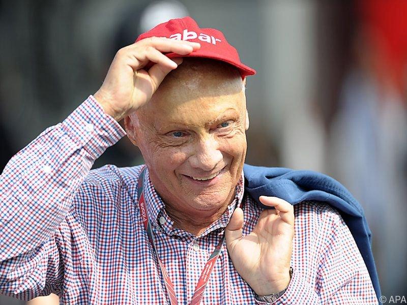 Niki Lauda beginnt jetzt mit der Rehab