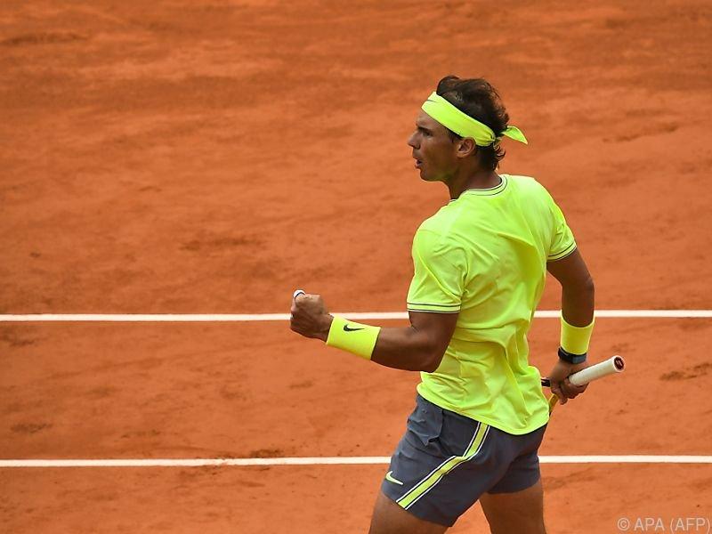 Rafael Nadal peilt seinen 12. Paris-Titel an