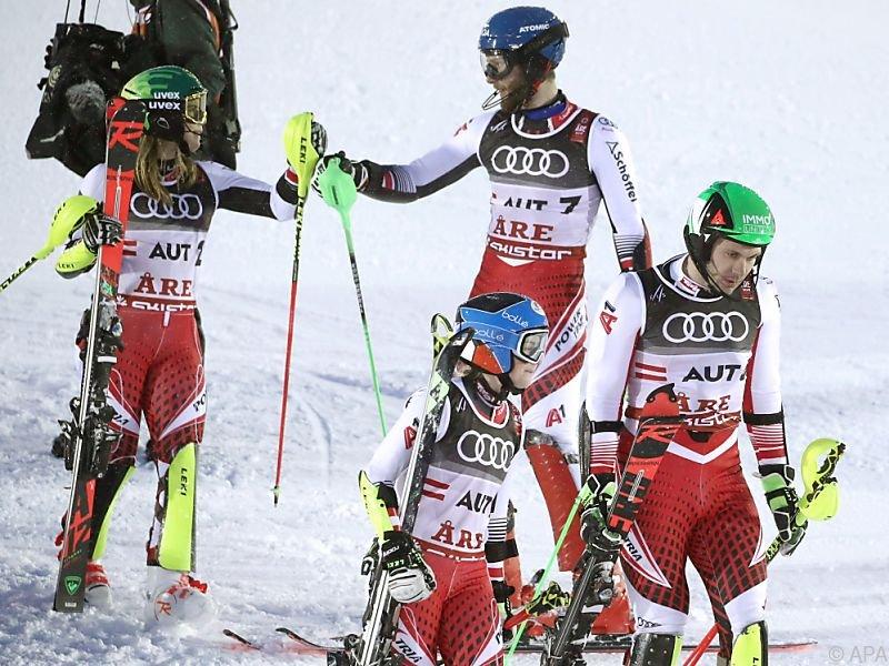 Österreich holte die vierte ÖSV-Medaille in Aare