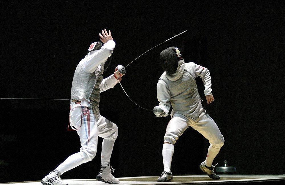 Symbolfoto Sportart Fechten