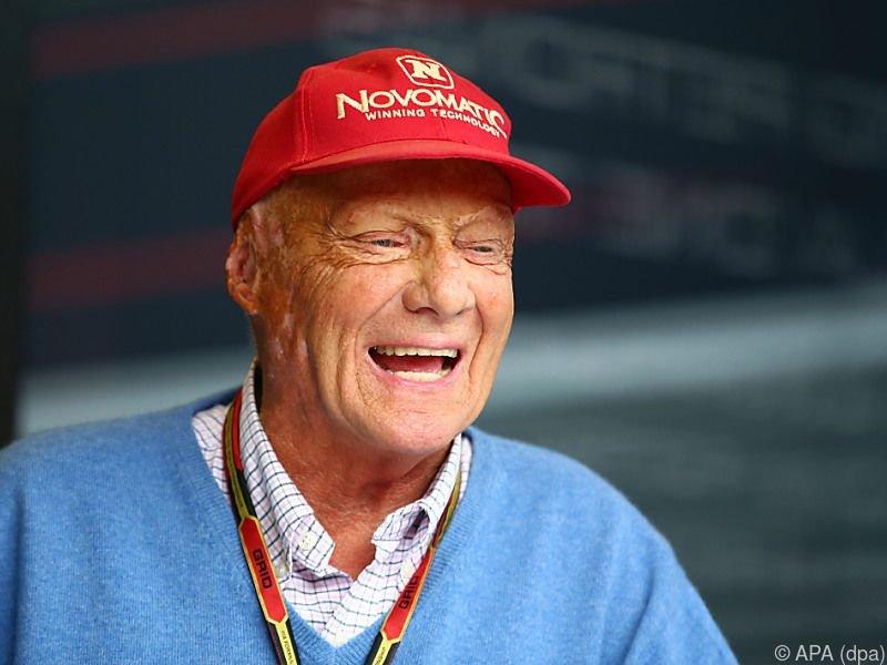 Niki Lauda befindet sich in der Reha
