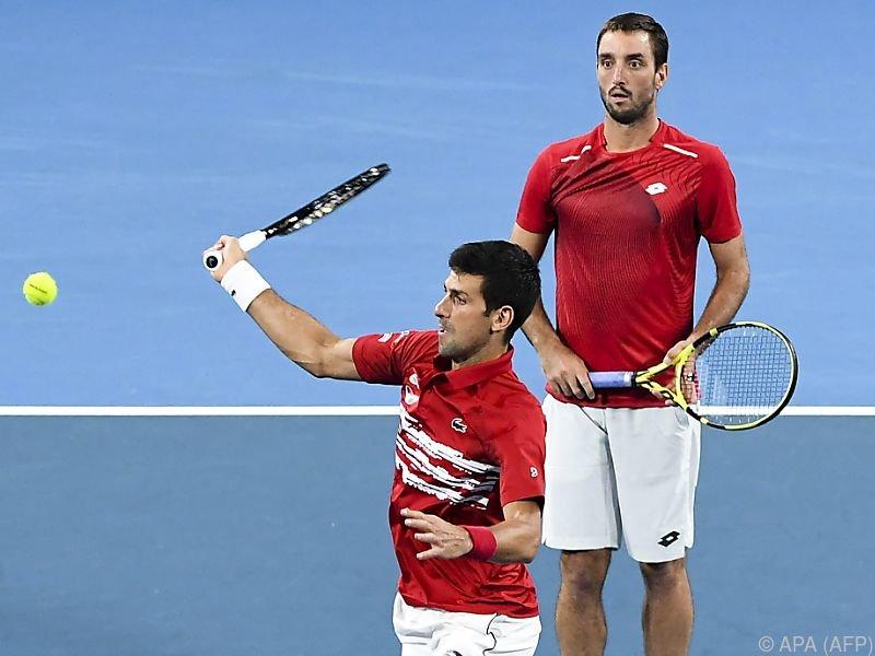 Djokovic und Troicki gewannen das entscheidende Doppel