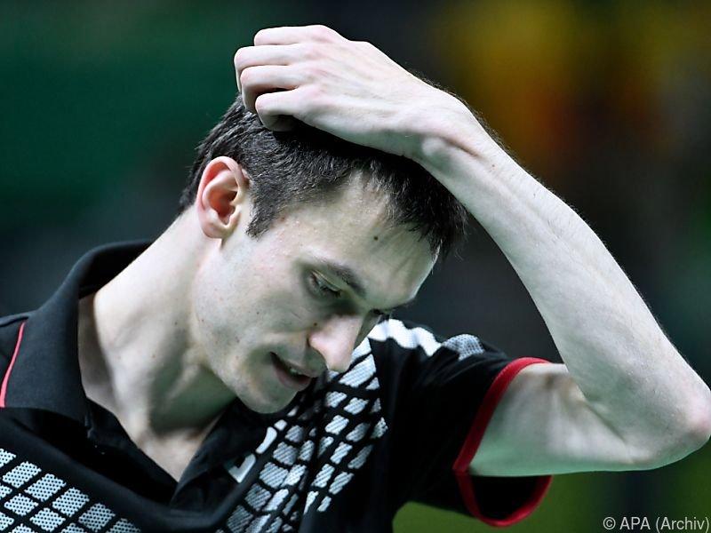 Stefan Fegerl hat bei der 50. Auflage der Tischtennis-Austrian-Open den Einzug in den Hauptbewerb verpasst