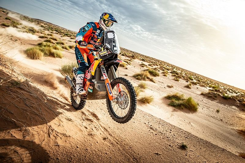 Matthias Walkner auf der 2. Etappe der Marokko-Rallye