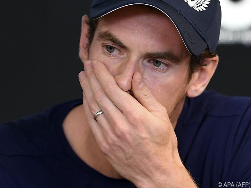 Murray kämpft mit anhaltenden Hüftproblemen