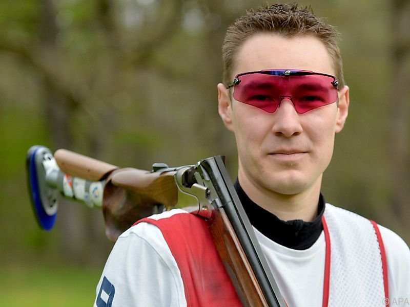 Gute Chancen für Sportschütze Sebastian Kuntschik