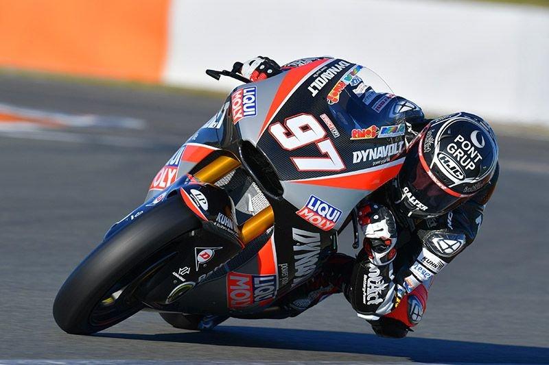 Xavi Vierge in der Moto2