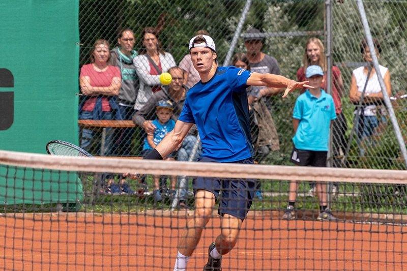 Kopp hat es beim ITF in seiner Heimat bis ins Finale geschafft