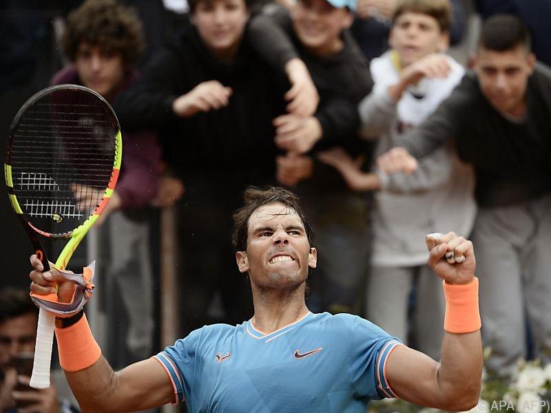 Nadal gelang die Revanche gegen Tsitsipas