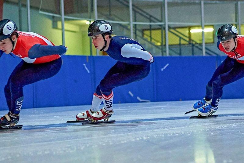 Dominic Andermann erzielt neuen Österreichischen Rekord über 500 Meter beim Short Track World Cup in Turin