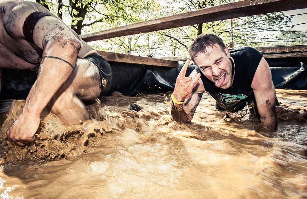 Spartan Race München Schlammgrube
