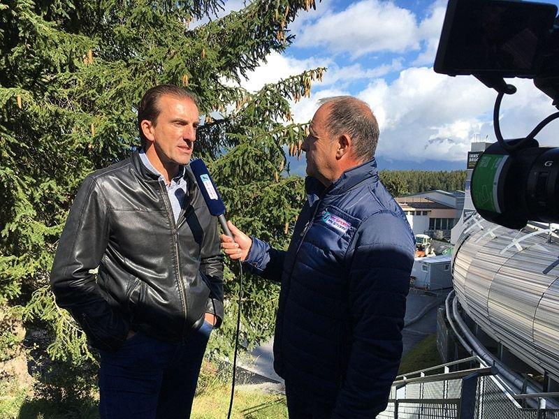 Markus Prock im Interview mit der MySportMyStory-Redaktion in Igls