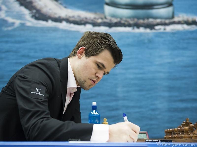 """Magnus Carlsen """"nur """"Fünfter"""