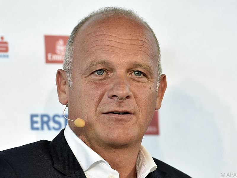 Turnierdirektor Herwig Straka