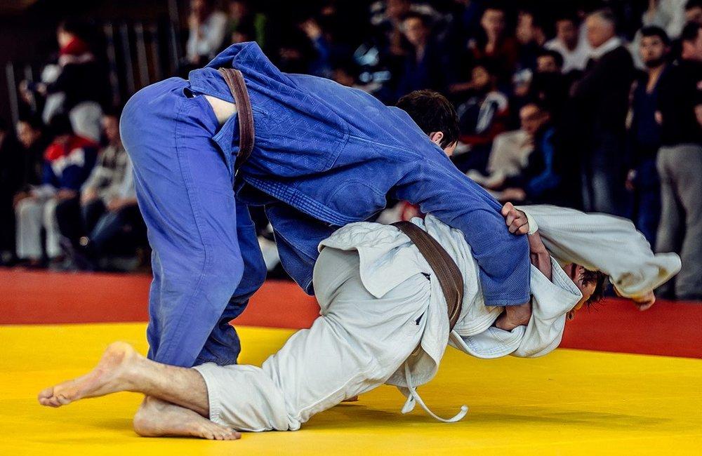 Symbolfoto Sportart Judo