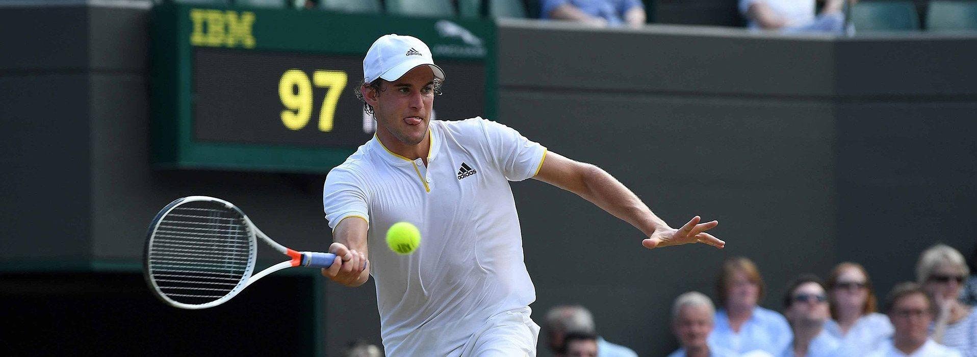 Dominic Thiem möchte in Wimbledon alles geben
