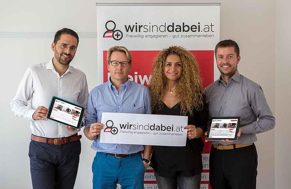 Angebot und Nachfrage zusammenbringen: Österreichischer Integrationsfonds (ÖIF) startet neues Online-Portal www.wirsinddabei.at für Freiwillige, Zuwander/innen und Flüchtlinge