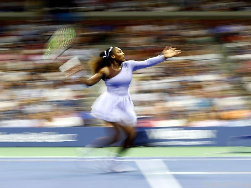 Serena Williams stürmte ins Finale der US Open