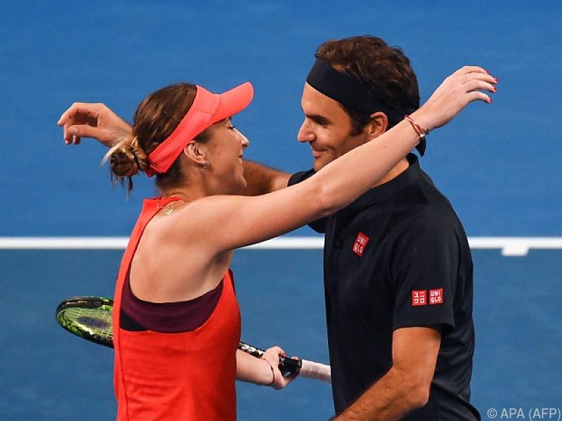 Titel für Belinda Bencic und Roger Federer