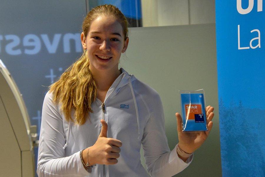 Sara Erenda erreichte beim HYPO Tirol U25 Voting den 4. Platz