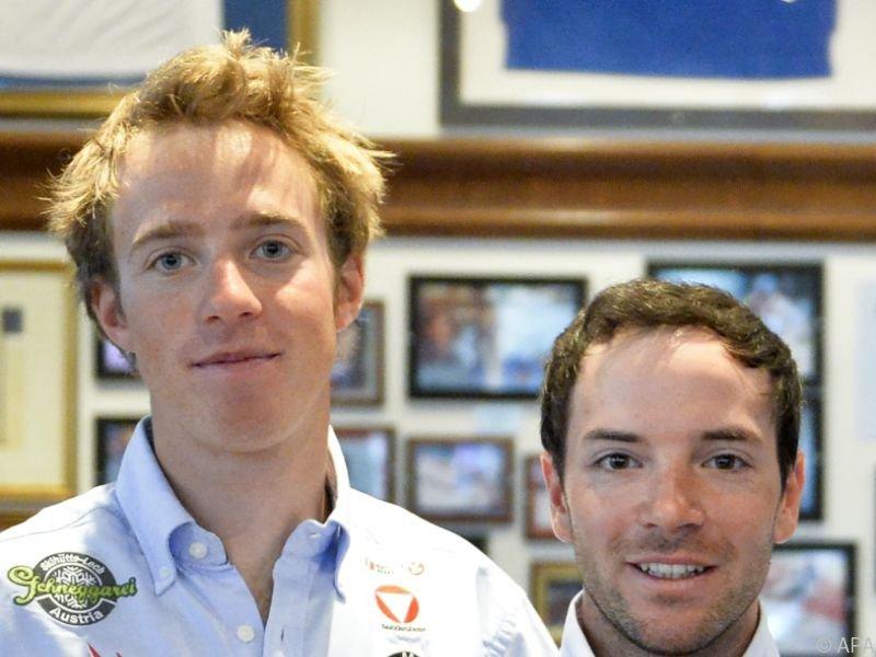 Lukas Mähr und David Bargehr starten bei den 470ern
