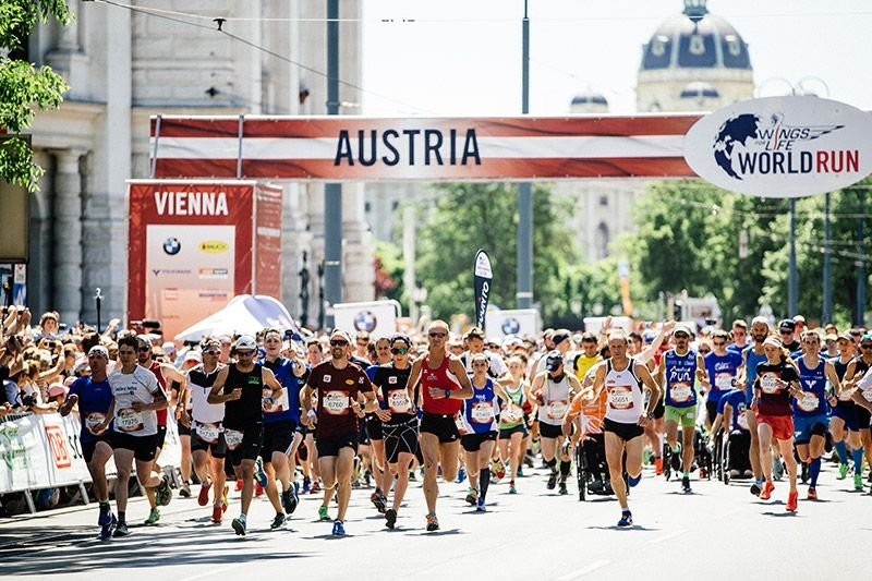 Der Wings for Life Run 2018 in Wien