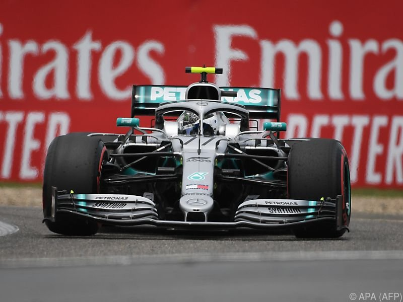 Mercedes-Fahrer Valtteri Bottas drehte am schnellsten seine Runden
