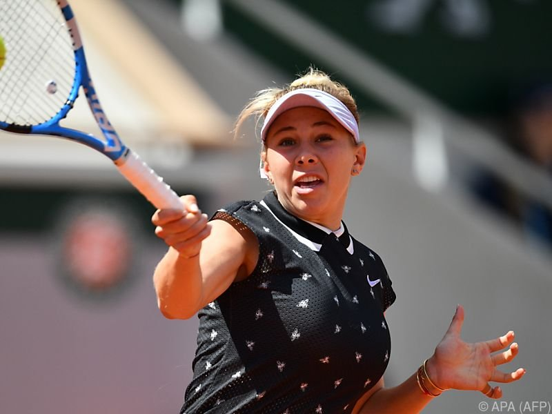 Amanda Anisimova siegte souverän