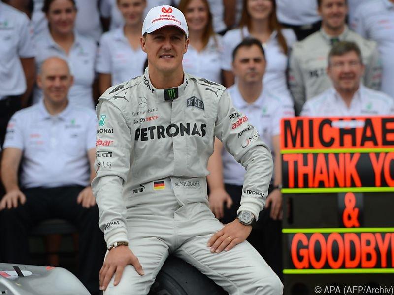 Schumacher wurde als Vorzeigeprofi gewürdigt