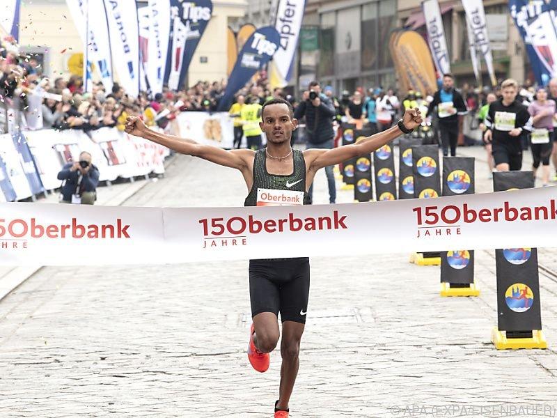 25-Jähriger aus Eritrea triumphierte
