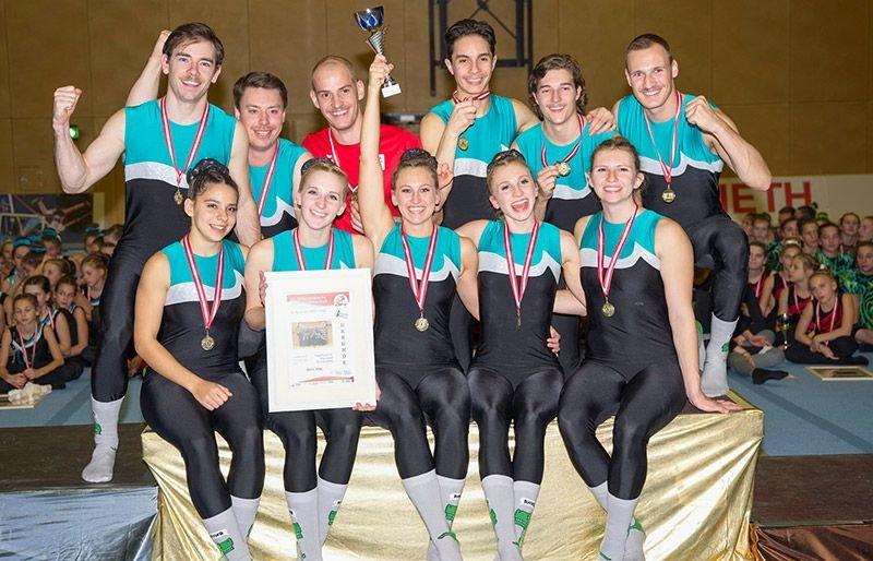 Klagenfurt gewinnt Staatsmeisterschaft im Team-Turnen