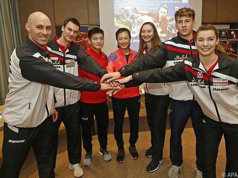 Chinesisch-österreichische Trainingsgemeinschaft
