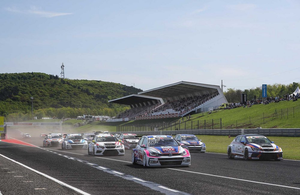ADAC TCR Germany 2018 in Most