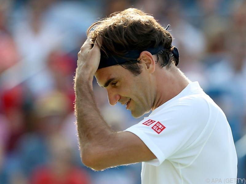 Roger Federer ist derzeit nicht in Topform