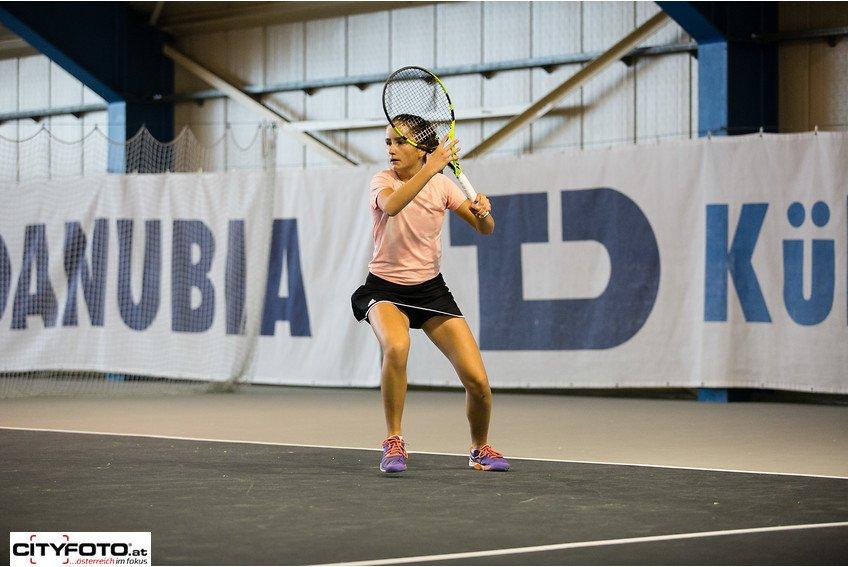 Mavie Österreicher erspielt sich Wildcard für das Upper Austria Ladies Tennisturnier in Linz