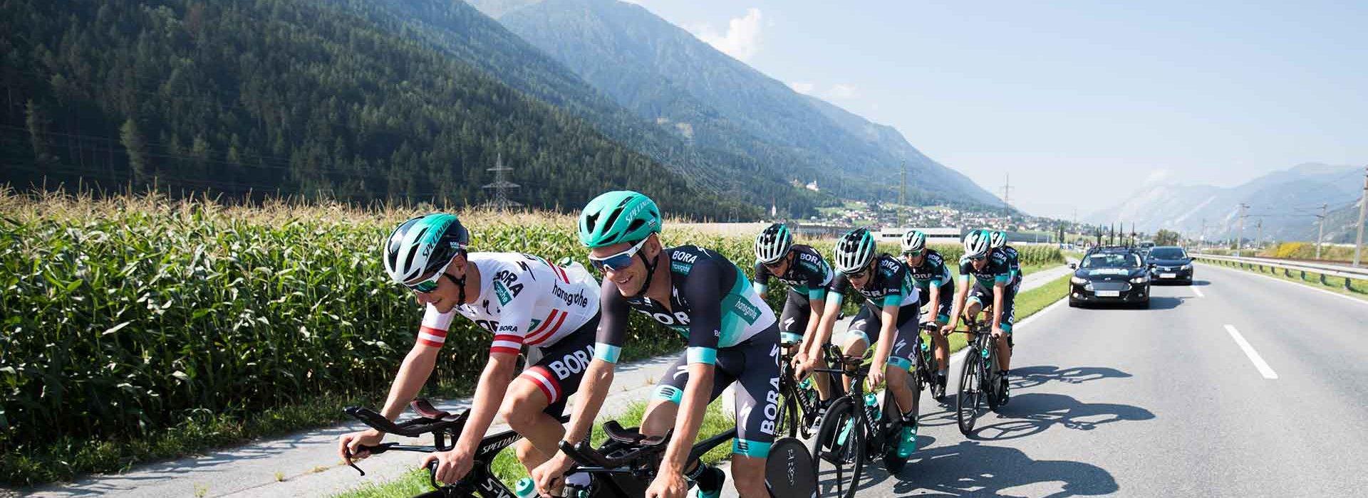 Beste Bedingungen für die Vorbereitungen auf das UCI Mannschaftszeitfahren der Herren am 23. September 2018