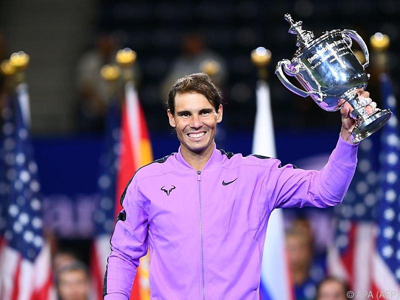 19 Grand-Slam-Titel hat der Spanier schon auf der Haben-Seite