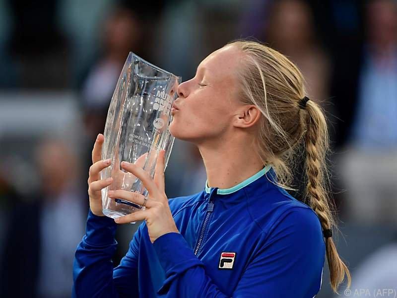 Kiki Bertens stürmte ohne Satzverlust durch das WTA-Turnier in Madrid