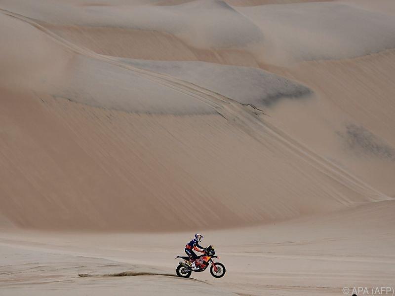 Walkner gewann die Etappe in der kargen peruanischen Sandwüste