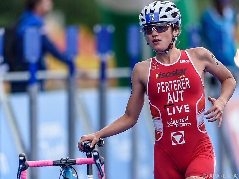 Platz 15 für Lisa Perterer in Edmonton